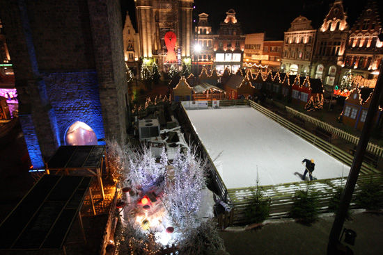 patinoire nuit